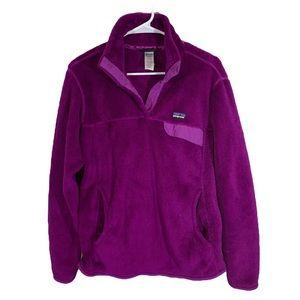 Patagonia pullover purple size large sweatshirt